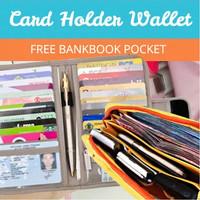 [Buy 1 Get 1 Free] Beli Card Holder Gratis Bankbook Pocket!
