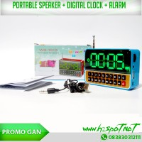 harga [PROMO] Multimedia Speaker + Digital Clock Tokopedia.com