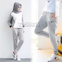 celana olahraga panjang untuk muslimah / training / hijabers / senam