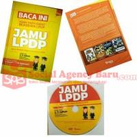 [Buku + Dvd] JAMU LPDP - Jurus Ampuh Dapat Beasiswa LPDP (Hardcover)