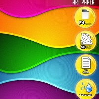 Fast Print Kertas Printer Art Paper Ukuran F4 100 Gram