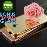 harga Hardcase Mirror Metal Bumper Acrylic Hard Back Case Meizu M2 Note Tokopedia.com