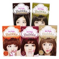 Etude hair coloring bubble