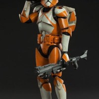 Sideshow Collectibles Star Wars Bomb Squad Clone Trooper Sixth Scale