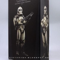 Sideshow Collectibles Star Wars Wolfpack Clone Trooper 104th Battalion