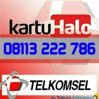 Kartu Halo Telkomsel || 08113 222 786