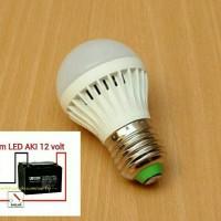 harga 3W 12V BOHLAM DC AKI PANEL SURYA SOLAR CELL / LAMPU LED 12VOLT 3WATT Tokopedia.com
