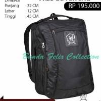 Tas Ransel Sporty Bag Bahan Nylon Free Cover Bag Max Baghi CCM 0713