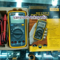 harga digital multimeter / multitester digital / fluke 15B+ Tokopedia.com