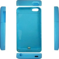 Rapid Power Bank Case Iphone For 5/5S DF 203 - 2200 mAh - Biru