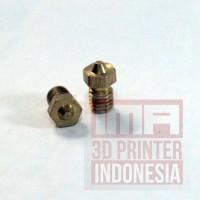 3D printer E3D V6&V5 J-Head brass nozzle extruder nozzle