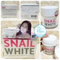 [ 50 GRAM ] SNAIL WHITE CREAM ORIGINAL THAILAND