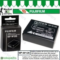 Battery Fujifilm NP-W126 for FinePix HS30EXR/HS33EXR/HS35EXR/HS50EXR