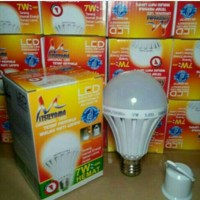 Lampu LED emergency 7 watt 7w 7watt
