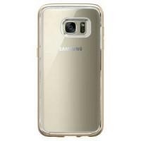 Spigen Samsug Galaxy S7 Edge Case Neo Hybrid Crystal Champagne Gold