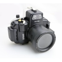 Meikon Waterproof Camera Case for Nikon D7000 - Black