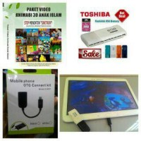 Paket Flashdisk 16GB Video Animasi 3D Anak Islami