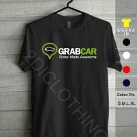 kaos grabcar / tshirt grabcar / baju grabcar