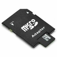 Adapter/Adaptor/Rumah/Dudukan MicroSd/Micro SD/MMC/Kartu Memori