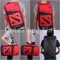 Jual Tas Gaming Bag Sekolah Dota Dota2 Logo Merah Murah