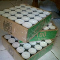 harga Lilin/Tea Light/aromatherapy/salon/spa/perlengkapan salon spa Tokopedia.com