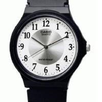 Casio Analog Watch MQ24-7B3LDF Jam Tangan Unisex Strap Karet - Hitam