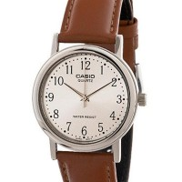 Casio Analog Watch MTP-1095E-7BDF Jam Tangan Unisex Genuine Leather Ba