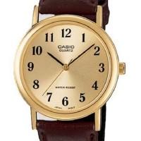 Casio MTP-1095Q-9B1 - Analog Watch - Jam Tangan Unisex - Genuine Leath