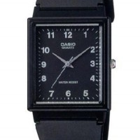 Casio Analog Watch MQ27-1BDF Jam Tangan Unisex Strap Karet - Hitam