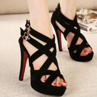 harga Sendal Sepatu High Heels Wanita(sandal Sepatu Cewek) Tokopedia.com