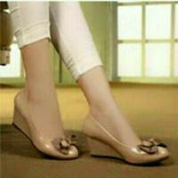 Sendal sepatu wedges wanita(sandal sepatu cewek)