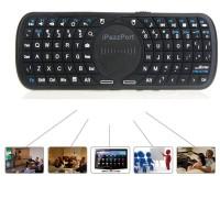 Mini QWERTY Wireless Keyboard IPazzPort MultiMedia TouchPad + Mouse L / R