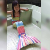 Jual Baju Anak Baju Renang Anak Kostum Anak Mermaid Size L (8-10 thn) Murah
