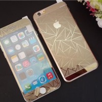 iPhone 5/5s 3D DIAMOND ROSE GOLD | Tempered Glass For iPhone