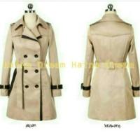 harga Blazer Coat wanita korea, jaket GLAMORY CREAM kece trendy Tokopedia.com