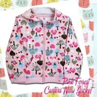 Jacket Bayi Anak Carters - Pink Forest