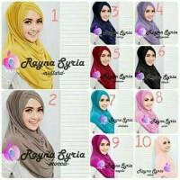 Jilbab Instan Rayna Syria Premium