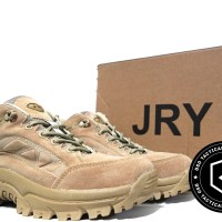 "Sepatu tactical JRY 4"" Desert USA military outdoor boots import"