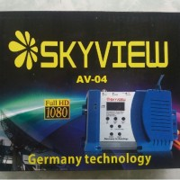 AV to RF converter (RF Modulator Multi-channel VHF/UHF)
