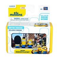 Micro Mini Minion Playset - British Minions by Thinkway Toys