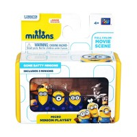 Micro Mini Minion Playset - Gone Batty Minions by Thinkway Toys