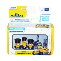 Micro Mini Minion Playset - Vive Le Minions by Thinkway Toys