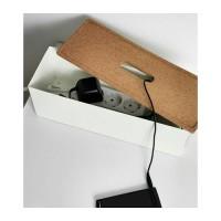 Ikea Kvissle ~ Kotak Pengaturan Kabel | Putih | Cable Management Box