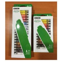 V-TEC Acrylic Colour Set Type 812 12warna 12ml