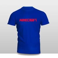 Kaos Baju Pakaian GAME MINECRAFT Murah