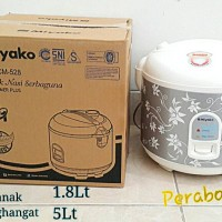 MIYAKO MCM-528 Rice Cooker Magic Com 3in1 1.8 Liter