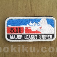 Patch Impor Major League Sniper MLS wih Velcro