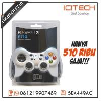 Stik Stick Controller Logitech Gamepad F710 Joystick Wireless Getar