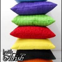 Jual Sarung Bantal Batik Sofa Emboss uk 40x40 | Cushion Cover Pillow Murah