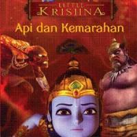 Komik Berwarna Little Krishna: Api dan Kemarahan